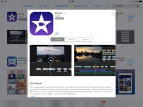 Be a screen star or director with iMovie