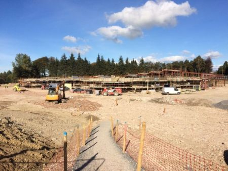 A busy site - October 2015